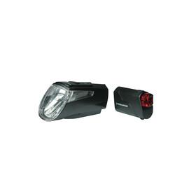 Trelock LS 460 I-GO POWER+LS 720 Akkubeleuchtung-Set schwarz